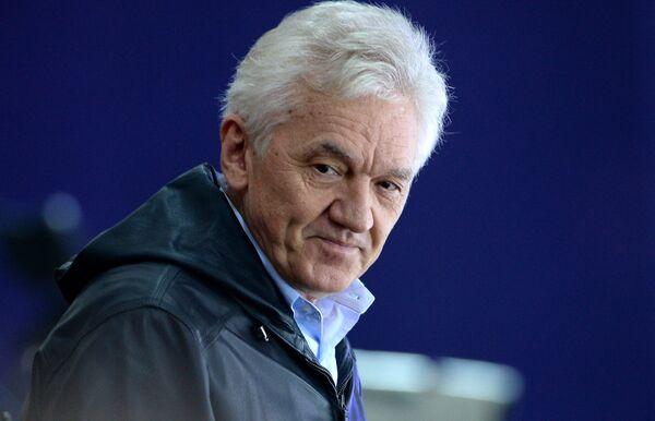 Председатель совета директоров Континентальной хоккейной лиги (КХЛ), президент ХК СКА Геннадий Тимченко