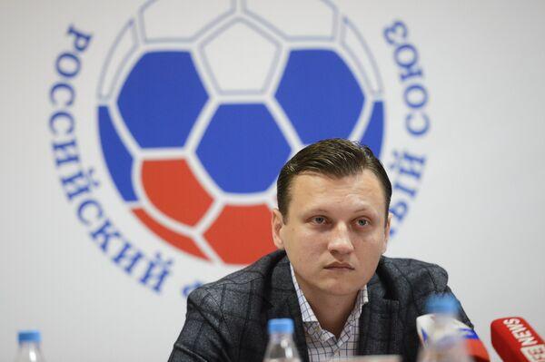 Старший тренер юношеской сборной России по футболу Михаил Галактионов