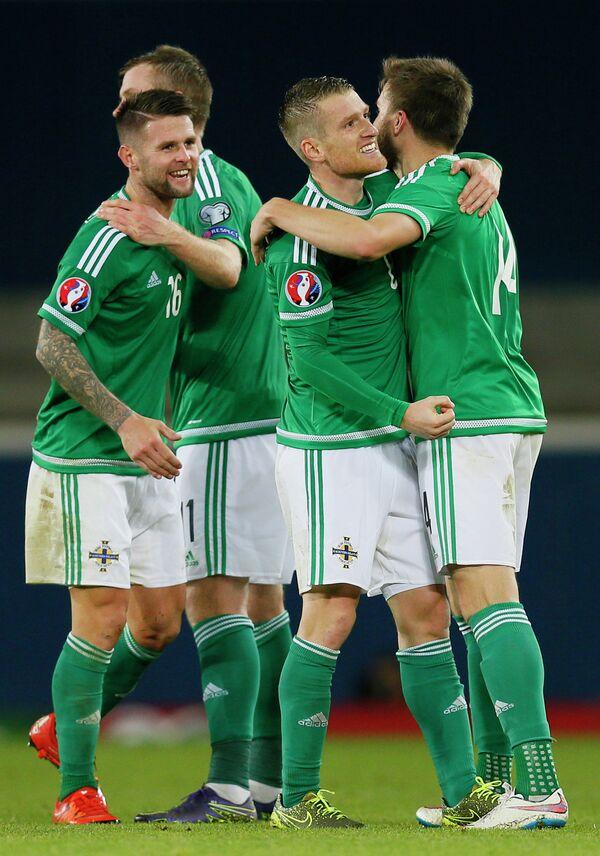 Футболисты сборной Северной Ирландии