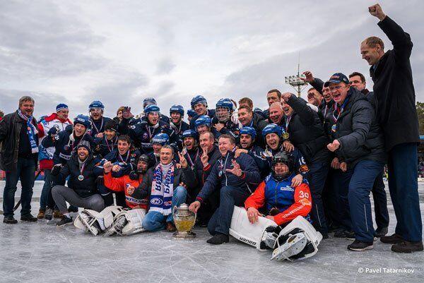Игроки клуба Байкал-Энергия