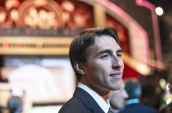 Сергей Шубенков, признанный лучшим спортсменом 2015 года по версии Всероссийской федерации легкой атлетики