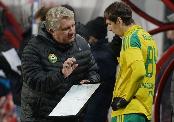 Сергей Ташуев (слева) и Александр Клещенко