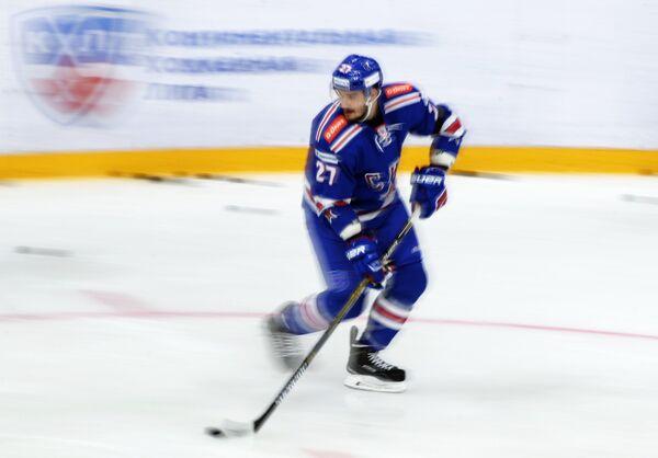 Защитник СКА Вячеслав Войнов