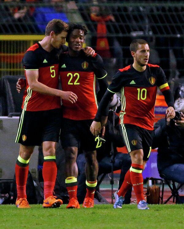 Футболисты сборной Бельгии по футболу