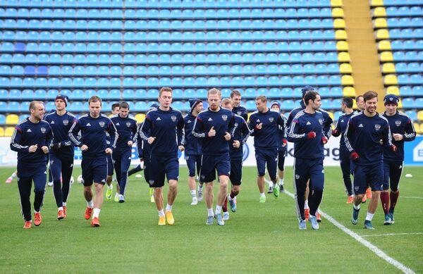Игроки сборной команды России