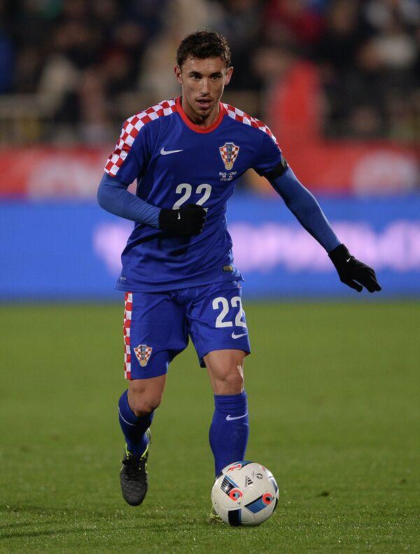 Защитник сборной Хорватии Йосип Пиварич