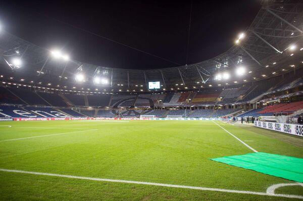 HDI Арена в Ганновере перед товарищеским матче между командами Германии и Нидерландов
