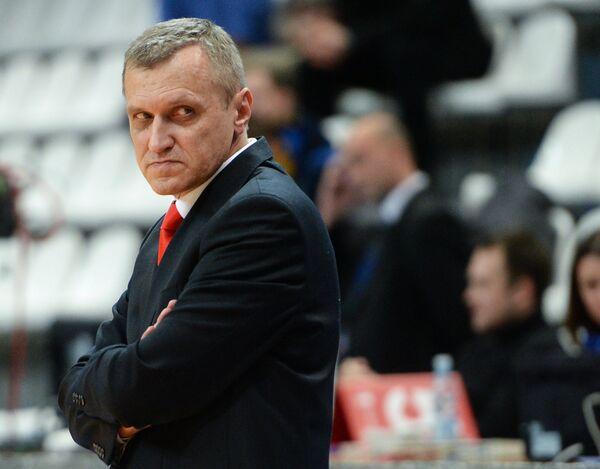 Главный тренер БК Красный октябрь Кирилл Большаков