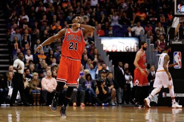 Форвард клуба НБА Чикаго Буллз Джимми Батлер