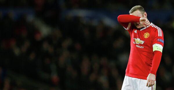 Нападающий Манчестер Юнайтед Уэйн Руни