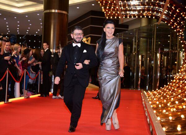 Михаил Галустян и Ёлка
