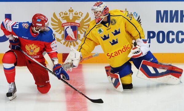 Хоккей. Кубок Первого канала. Матч Россия - Швеция