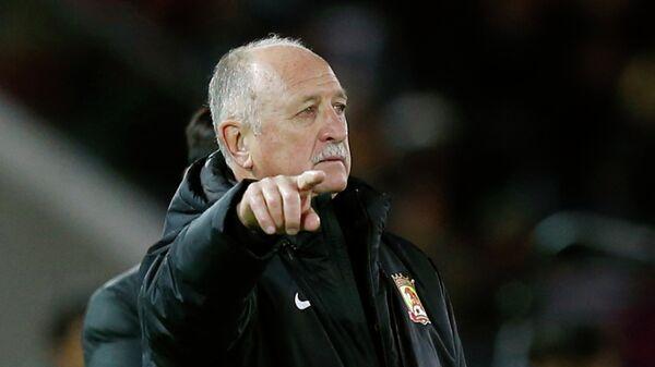Главный тренер китайского футбольного клуба Гуанчжоу Эвергранд Луис Фелипе Сколари