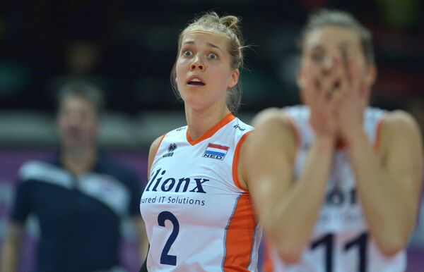 Волейболистка сборной Нидерландов Фемке Столтенборг