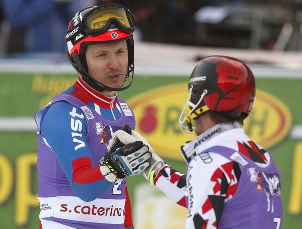 Александр Хорошилов (слева) и Марсель Хиршер