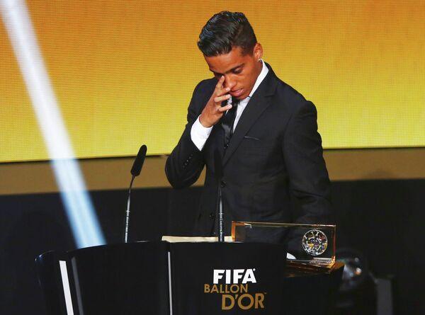 Бразильский футболист Венделл Лира