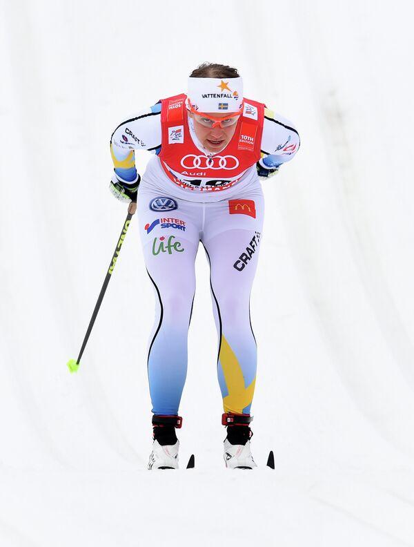 Шведская лыжница Ида Ингемарсдоттер