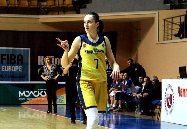 Баскетболистка Вологды-Чевакаты Татьяна Петрушина