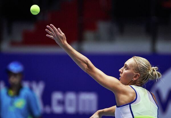 Теннис. ST.Petersburg Ladies TrophЕлена Веснина