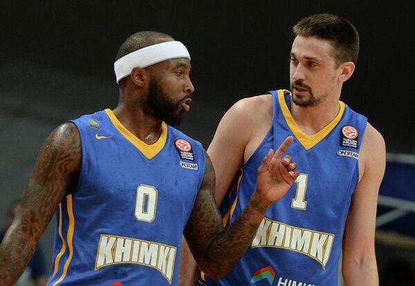 Тайриз Райс (слева) и Алексей Швед