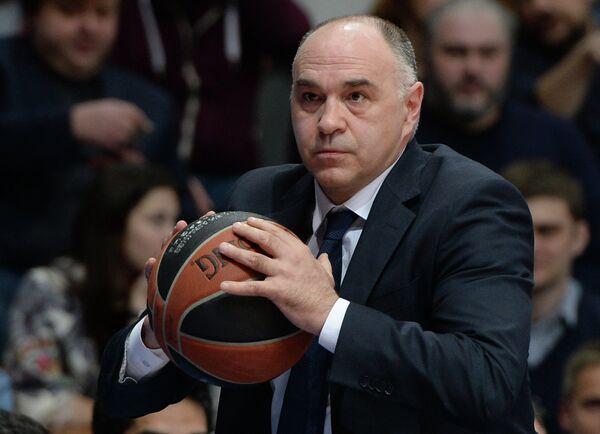 Главный тренер БК Реал Пабло Ласо