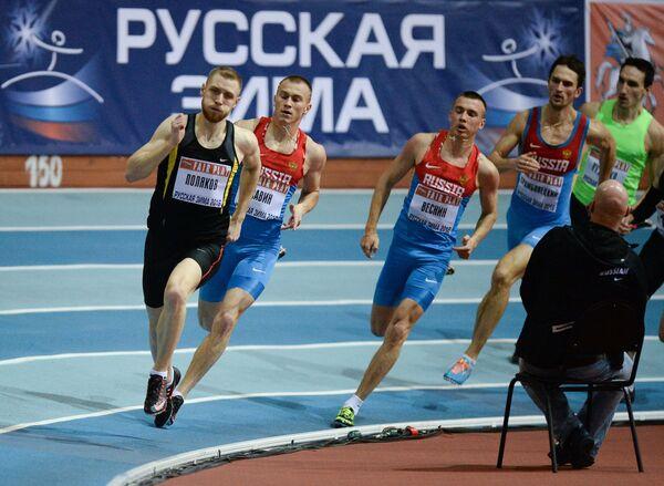 Никита Поляков (слева)