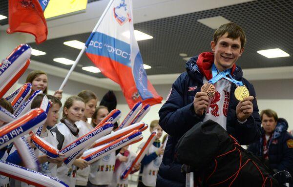 Лыжник Игорь Федотов