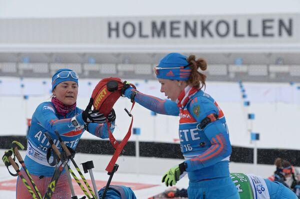 Екатерина Юрлова и Екатерина Шумилова (слева направо)