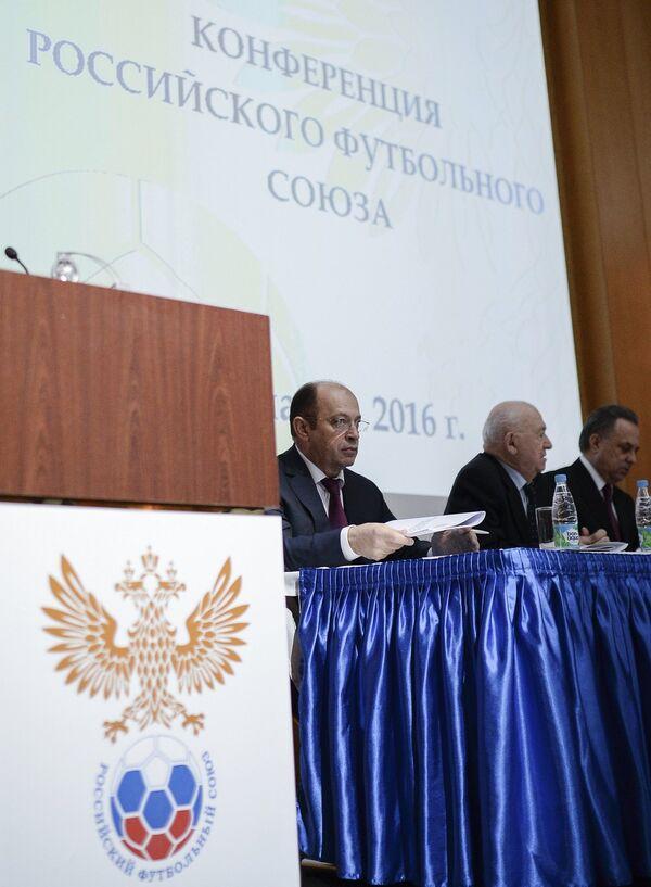 Сергей Прядкин, Никита Симонян и Виталий Мутко (слева направо)