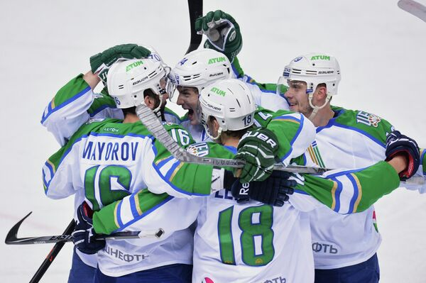 Игроки ХК Саллават Юлаев