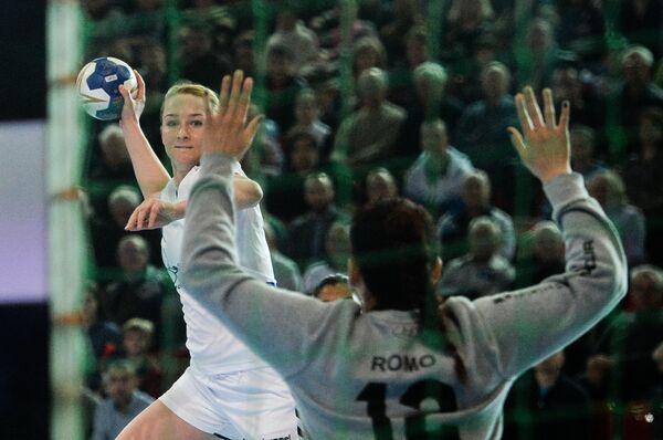 Игрок сборной России Полина Горшкова