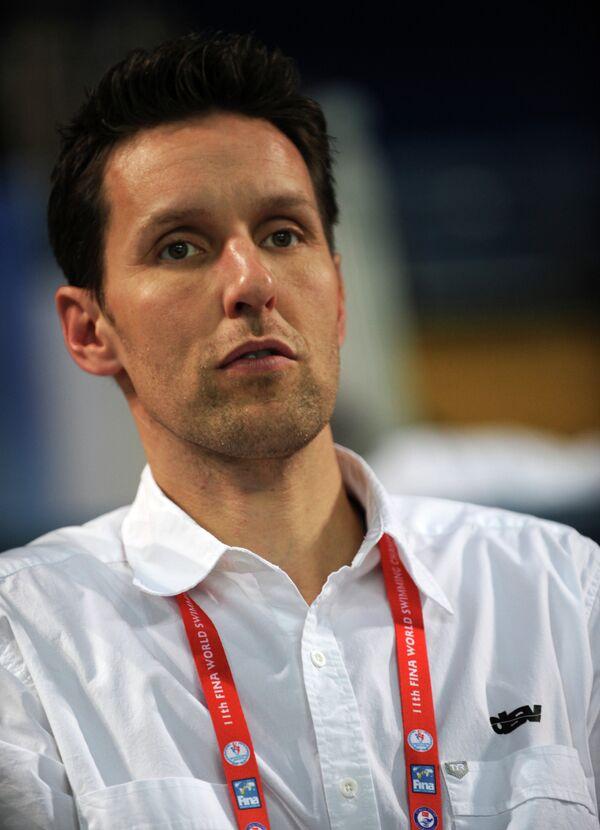 Главный тренер сборной Германии по плаванию Хеннинг Ламбертц