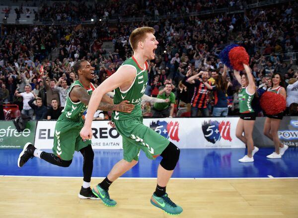 Баскетболисты Басконии