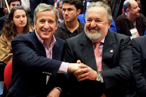 Хуан Педро Дамиани (слева)