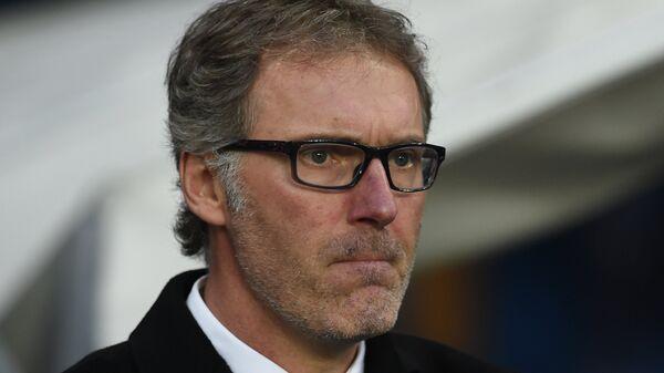 Главный тренер французского футбольного клуба Пари Сен-Жермен Лоран Блан