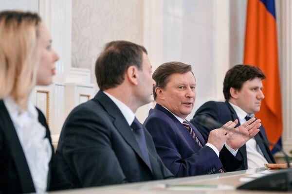 Илона Корстин, Сергей Кущенко, Сергей Иванов, Андрей Широков (слева направо)