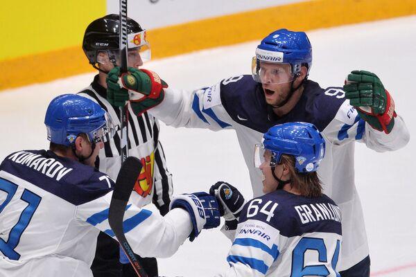 Игрок сборной Финляндии