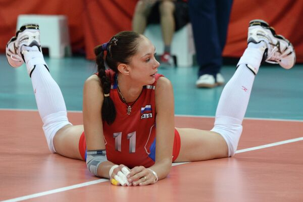 Екатерина Гамова на Олимпийских играх в Лондоне