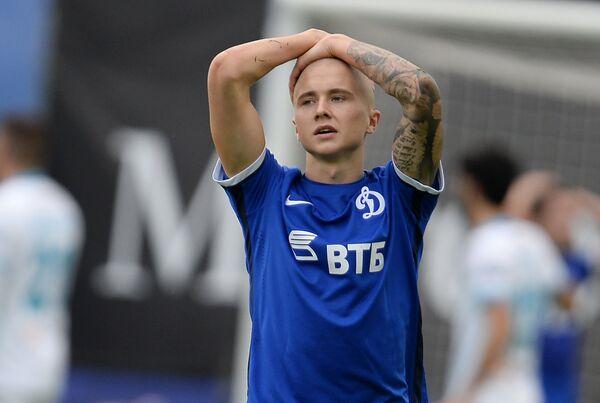 Защитник Динамо Себастьян Хольмен