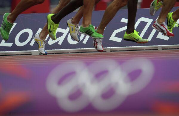 Соревнования по легкой атлетике на летних Олимпийских играх в Лондоне.