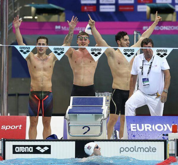 Мужская сборная Великобритании по плаванию