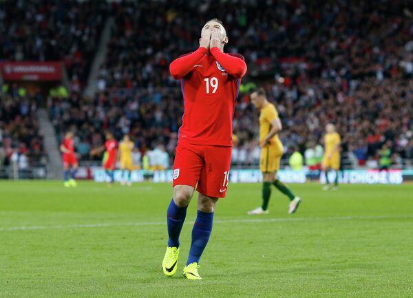 Форвард сборной Англии по футболу Уэйн Руни