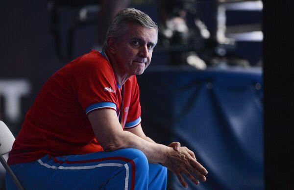 Генеральный менеджер сборной России по вехтованию Кристиан Бауэр
