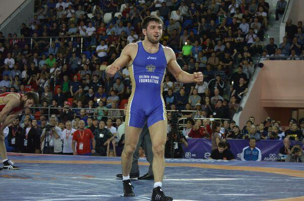 Чемпион России по вольной борьбе Сослан Рамонов