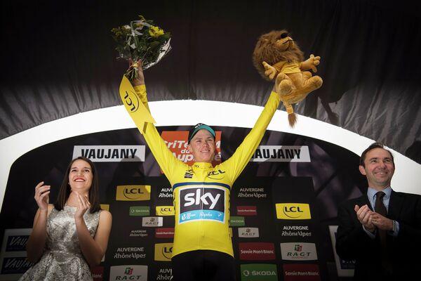 Британский велогонщик Кристофер Фрум из команды Sky