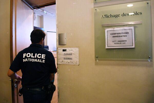Суд во Франции, где осудили российских болельщиков