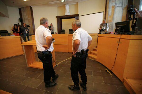 Суд в Марселе, где слушалось дело о беспорядках с участием российских футбольных болельщиков во Франции