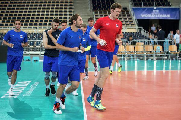 Андрей Ащев, Дмитрий Мусэрский (слева направо на первом плане)