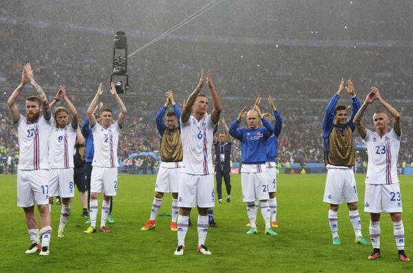 Футболисты сборной Исландии
