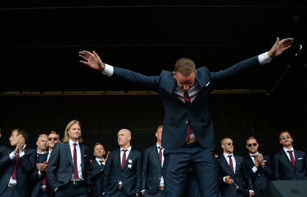 Вратарь сборной Исландии Ханнес Тор Халлдорсон